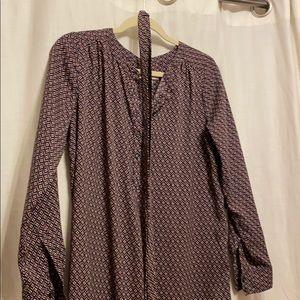 Loft t shirt dress
